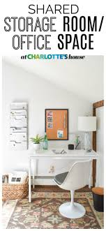 i turned this clutter filled closet into a neat and organized storage room office space