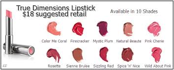 Dimensions Color Chart Lipstick Color Chart Lipstick And Accessories For Lifestyle