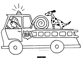 Small Picture Best Fire Truck Coloring Pages 99 For Your Picture Coloring Page