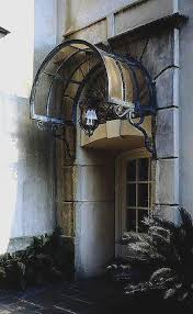 wrought iron door awnings beautiful 41 best glass awning and canopy images on