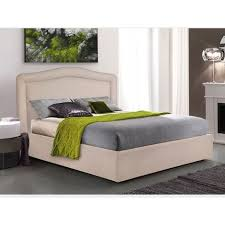 Sopra, un'immagine vettoriale di un letto singolo, con struttura larga sia in testa che ai piedi: Letto Matrimoniale Senza Testiera Al Miglior Prezzo