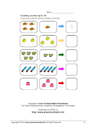 Free printable maths worksheets preschool | Download them and try to ...