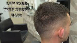 Low Fade With Short Hair Mens Haircut Youtube