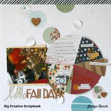 My Creative Scrapbook How To Create A Pie Chart Embellishment By