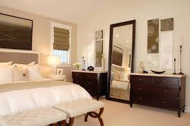 bedroom wall mirrors. Full Length Bedroom Mirror Hanging Transitional With Gallery Wall Neutral Colors Dark Mirrors