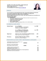 Resume Format For Doctors Gulijobs Com