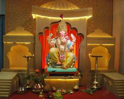 ganpati decoration ideas at home in usa home ideas