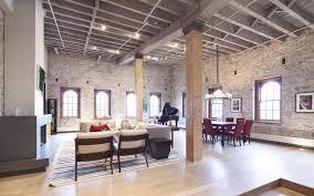 Spacious Modern Manhattan Loft Apartment with Wood Columns