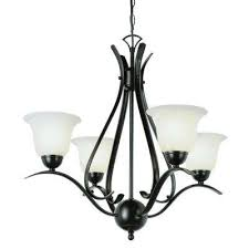 stewart 4 light rubbed oil bronze chandelier with marbleized glass shades
