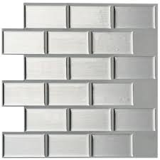 Image Tub Peel And Stick Mosaic Decorative Wall Tile Home Depot Instant Mosaic In In Peel And Stick Mosaic Decorative Wall