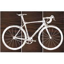 bike wall prints