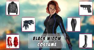 the black widow costume guide