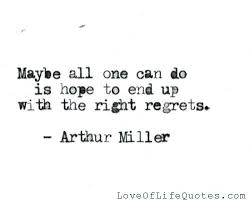 Regret Love Quotes Beauteous Regret For Love Quotes With Quotes On Mistakes And Regrets Love