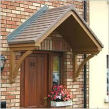 canopies over front doors