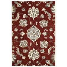 photo 4 of garnet rectangular indoor area rug common 5 x 8 allen roth rugs and