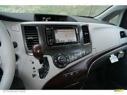 2013 Toyota Sienna XLE AWD Light Gray Dashboard Photo #69704682 ...