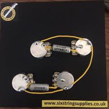 six string supplies how to wire a les paul (50s wiring) Guitar Wiring Harness Uk 50s style les paul wiring guitar wiring harness kits for les paul