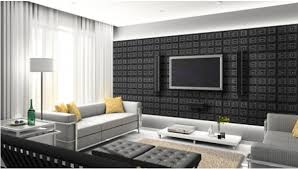 Small Picture Amazing Interior Design Ideas With D Wall Panels Elegant Living