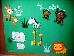 Jungle Decoration How To Make Jungle Bulletin Board Ideas Tedxumkc Decoration
