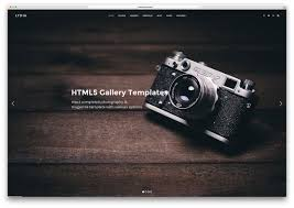 Photography Websites Templates 24 Top Gallery HTML24 Website Templates 24 Colorlib 9