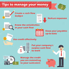Manage Your Money Infographics Stock Vector Tulpahn 65141909
