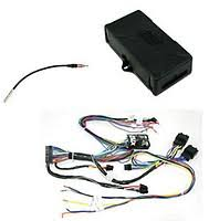 scosche gm21sr gm lan amplified non amplified onstar integrated crux general motors radio replacement module soogm 16 crux