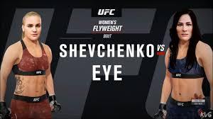 Valentina Shevchenko vs Jessica Eye ...