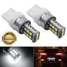 W21 5w Brake Light Ciihon T20 7443 Led Brake Light Bulb W21 5w White 6000k 18v 1800 Lumens 15 3030smd Backup Reverse Tail Lights Super Bright Replacement Pack Of 2