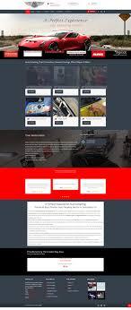 Web Design Sample Text Automotive Website Web Design Sample On The Mark Digital