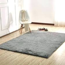 unique gray faux fur rug or area grey and white rugs 8x10
