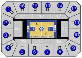 Duke Basketball Seating Chart Mens Basketball Ticket Information Duke University