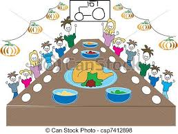 family turkey dinner clipart. Plain Clipart Thanksgiving Dinner With The Family Throughout Turkey Clipart D