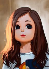 50+ Cute Girl Pic ideas | lovely girl image, girl cartoon, art girl