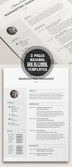 50 best minimal resume templates design graphic design junction 50 best minimal resume templates 2