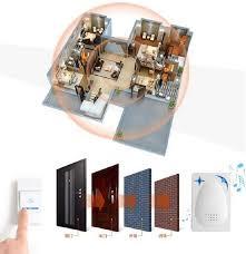 30m wireless receiver remote control door bell 16 s doorbell door bell