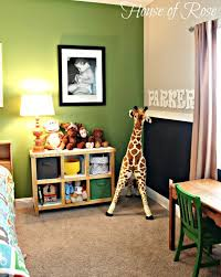 Like the green for the playroom. {Big Boy Room} The Re-do