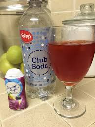 Sugar Free Crystal Light Nutrition Facts My Soda Replacement 1 Cup Club Soda 1 Serving Of Liquid