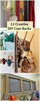 Creative Ideas For Coat Racks 100 Creative DIY Coat Racks Diy coat rack Coat racks and Reuse recycle 85