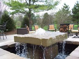 pictures of outdoor water fountains