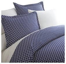 becky cameron premium 3 piece quadrafoil printed duvet cover set mediterranean duvet covers and duvet sets by ienjoy home