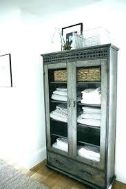 freestanding linen cabinet interior furniture free standing