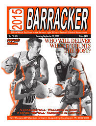 Barossa Light And Gawler Netball Barracker By Evolving Solutions Issuu