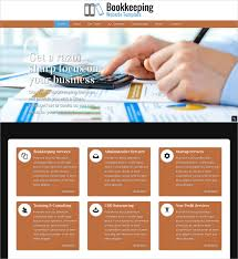 Free Website Template Beauteous 48 Accounting Website Themes Templates Free Premium Templates