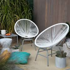 small lounge chairs. Coral Coast Haley Acapulco All-Weather Wicker Sun Chair - Set Of 2 Small Lounge Chairs A