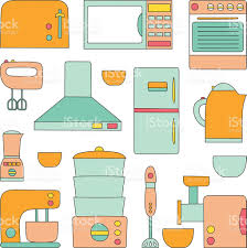 Kitchen Appliances On Credit Vector Kitchen Appliances Icon Stock Vector Art 520943846 Istock
