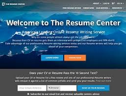 The Resume Center Review | Company's Home Page