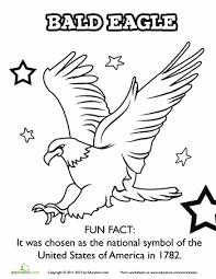 Small Picture American Bald Eagle Worksheets Social studies and School