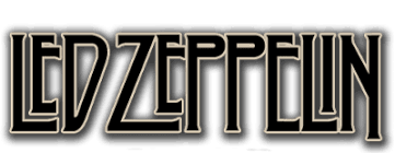 Led Zeppelin Logo White | Rock Theme | LED Zeppelin, Zeppelin, Led ...