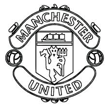 Soccer Coloring Pages Printable Free United Logo Es Ball Porongurup