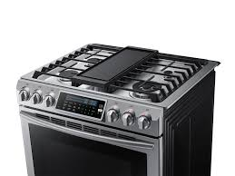 gas cooktop with griddle. Slide-In Gas Range With True Convection Gas Cooktop Griddle